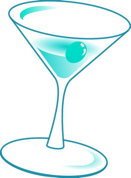 blue martini clip art glass with drink clip art at clker com vector clip art