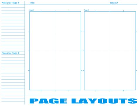 book page layout templates free comic book resources layout pages