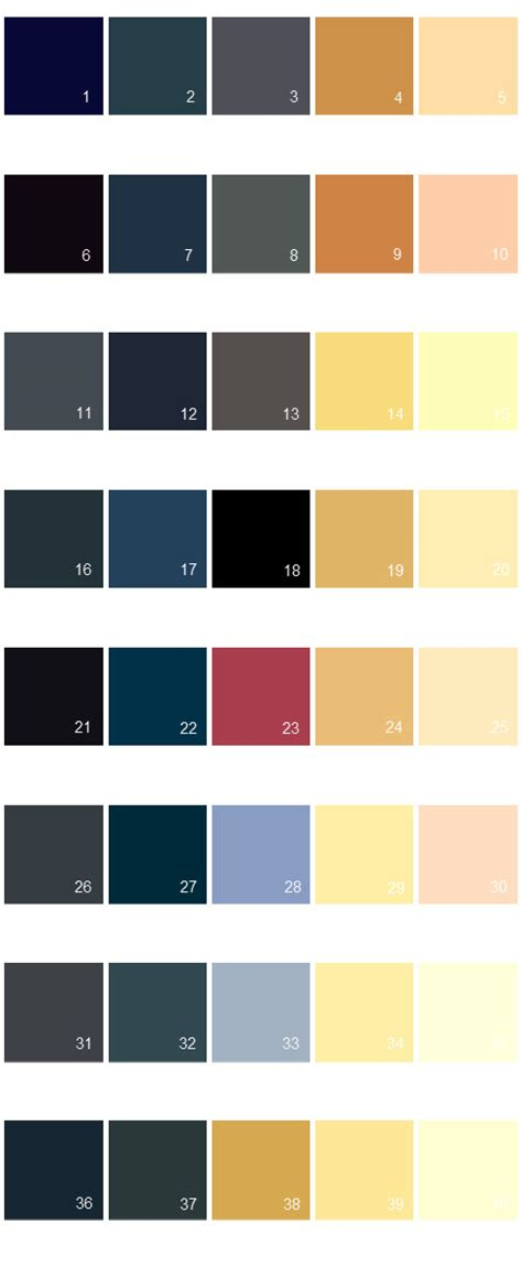 valspar color palette valspar paint colors colony palette 07 house paint colors