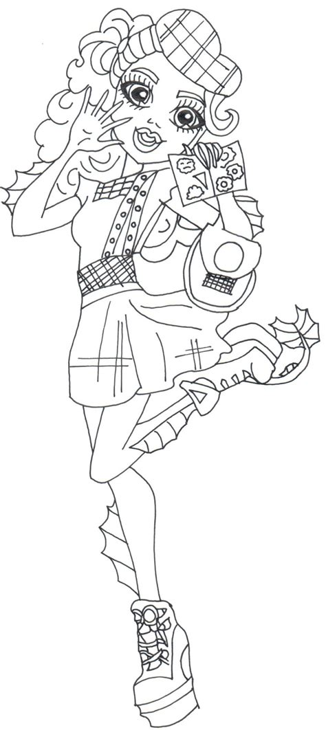 monster high gooliope coloring pages free printable monster high coloring pages october 2015
