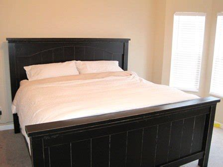 ana white our farmhouse bed diy projects ana white farmhouse bed with arch diy projects
