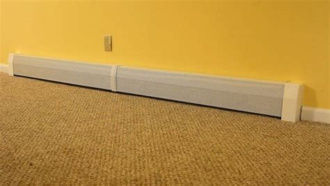 replacement baseboard heater covers spruce up baseboard heaters with stylish diy
