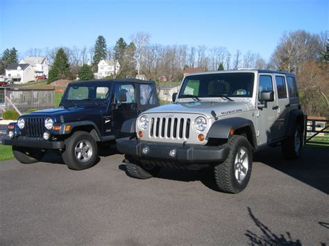 Jeep Tj Vs Jk Tj Vs Jk Photos