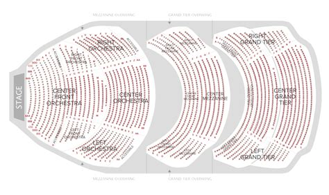 seating charts cobb energy centre
