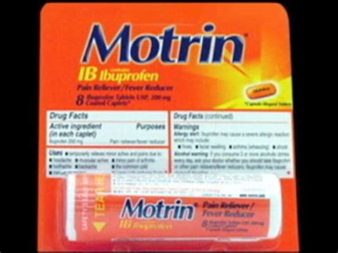 Shelf Of Benadryl by Contractor Questions Order To Remove Motrin From Shelves