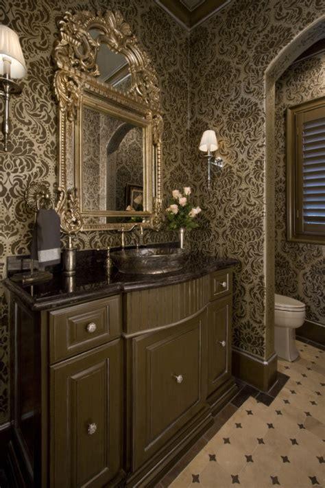 powder bathroom ideas powder bath ideas 2017 grasscloth wallpaper