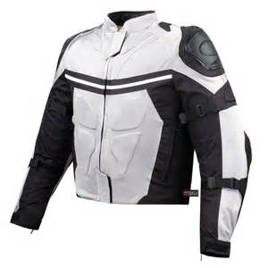 Motorcycle Jacket Mesh Motorcycle Jacket Waterproof White