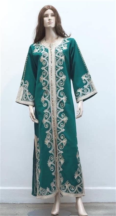 Fashion Kaftan Wanita Combi Gold Green 146 best images about moroccan fashion on moroccan dress ux ui designer and