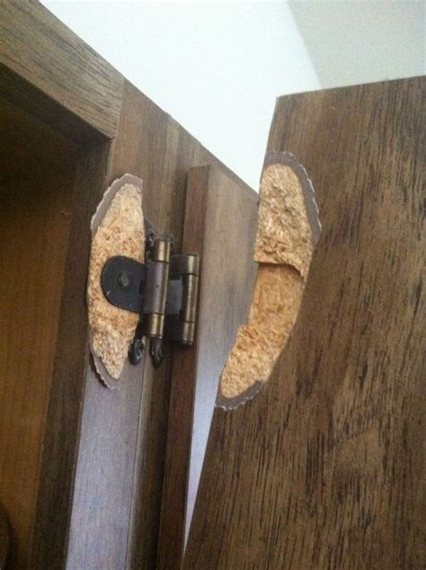 how to fix cabinet door panel repair is there any way to fix a hinge pulled out of