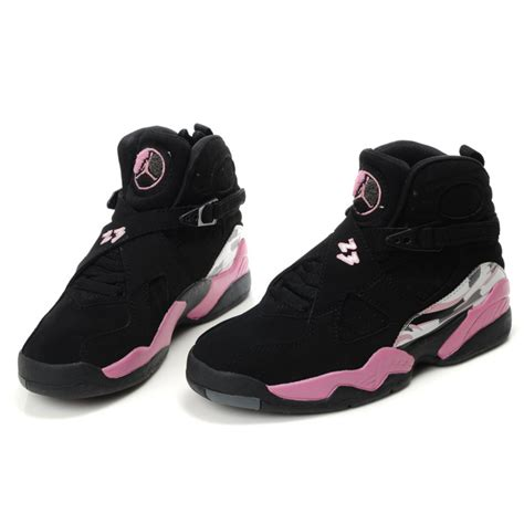 air shoes for air 8 air sole high black pink womens shoes cheap