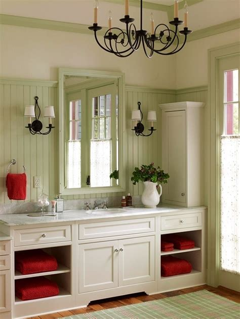red and green bathroom green bath with red accents for the home pinterest