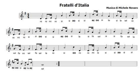 testo inno alla gioia italiano musica e spartiti gratis per flauto dolce inno nazionale
