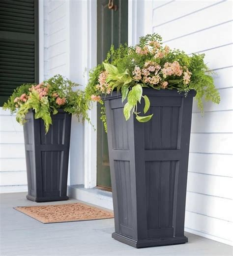 decorative garden containers decorative outdoor pots for plants home inspirations