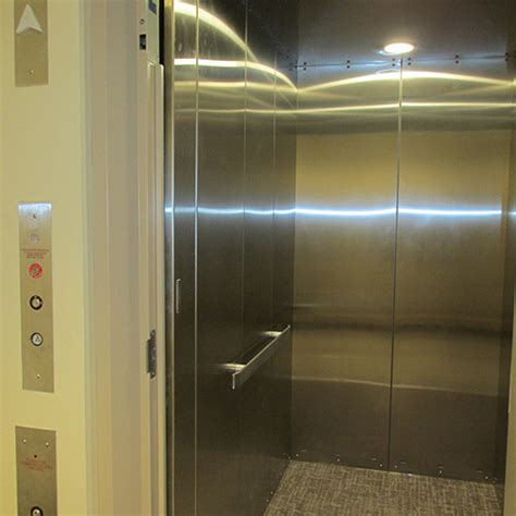 elevator swing doors american crescent commercial compact swing door elevator