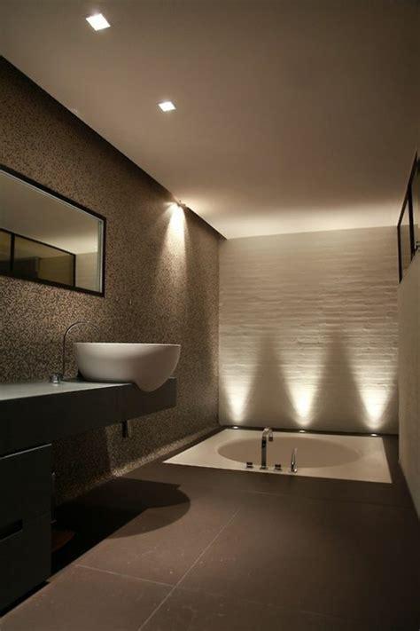 beleuchtung im badezimmer modernes badezimmer ideen zur inspiration 140 fotos