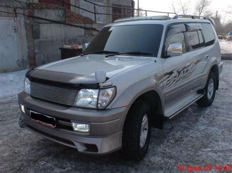 1999 Toyota Land Cruiser 1999 Toyota Land Cruiser Prado Pictures