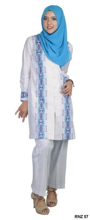 Tunik Sorea Bordir Putih Tunik Wanita tunik cotton putih gudang fashion wanita