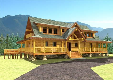 Handcrafted Log Cabins - log homes handcrafted log homes log home floorplans log