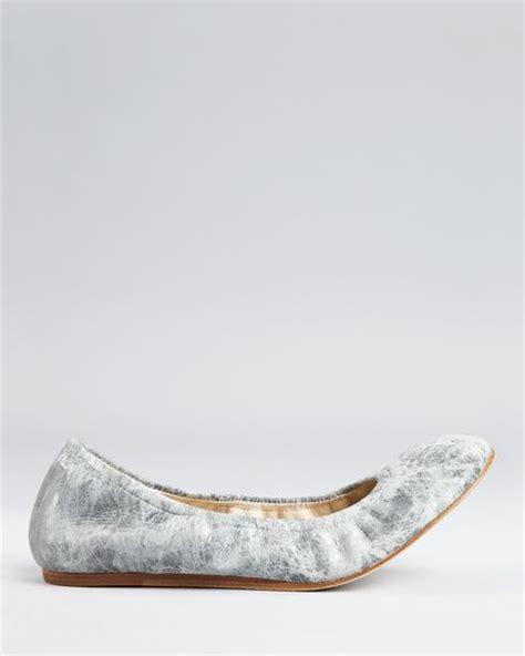 vera wang lavender shoes flats vera wang lavender flats lillian ballet in silver silver
