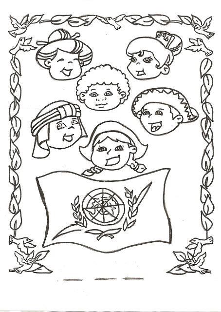 pinto dibujos d a de las naciones unidas 24 de pintamos el dia de las naciones unidas