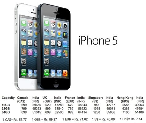 6 iphone price in india iphone 5 cool new tech