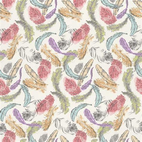 motif pattern wallpaper rasch barbara becker bird feathers pastel motif pattern