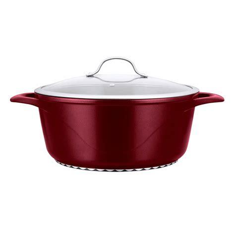 10 ceramic pot corvex 10 qt ceramic stock pot with lid assorted bj s
