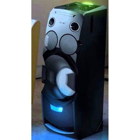 Mini System mini system sony torre led multicolorido nfc e bluetooth