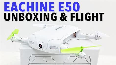 Drone Eachine E50 eachine e50 drone unboxing flight