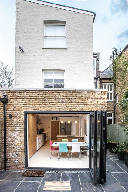 modern kitchen design in loft extension london by belsize loft conversion extension and reconfiguration of