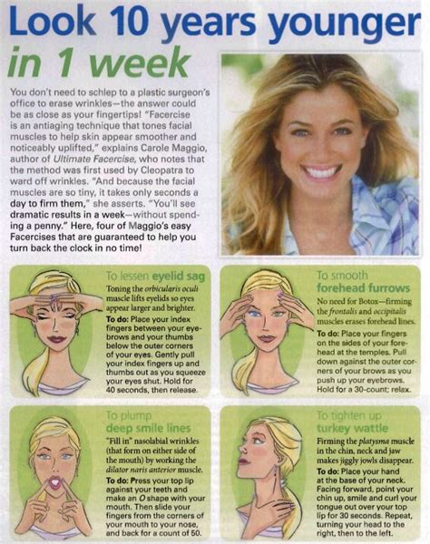 hair shape for jowls it s never too early to start exercising your face muscles