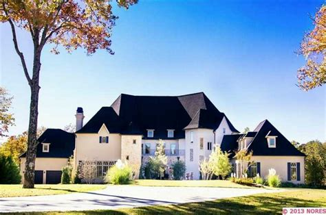 newly built country style mansion in owasso ok homes of the rich the 1 real estate
