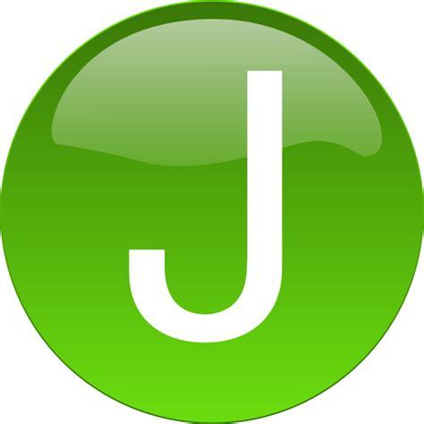 j a green j clip art at clker com vector clip art online