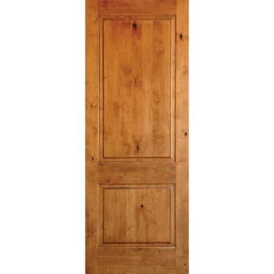 krosswood doors 18 in x 80 in knotty alder 2 panel krosswood doors 18 in x 80 in rustic knotty alder 2