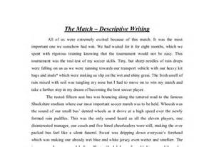 Descriptive Essay by Write Descriptive Essay