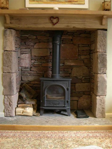 flagstone fireplace best 25 wood stove surround ideas on pinterest pellet
