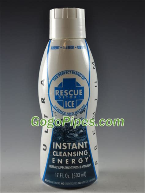 How To Use Rescue Detox Instant Cleansing Energy by Detox Instant Cleansing Energy Rescue Detox Blue