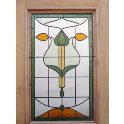 stained glass door original nouveau stained glass door buy from phs