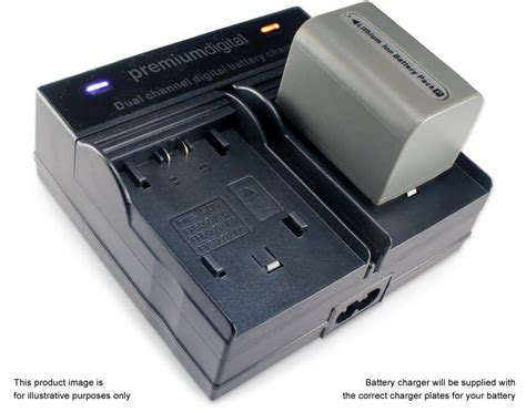 Battery Charger Sony dual battery charger for sony handycam dcr dvd109e