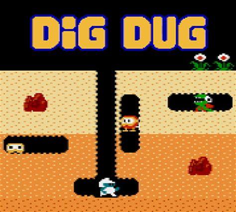 Dig Dug   NES   Games   Nintendo
