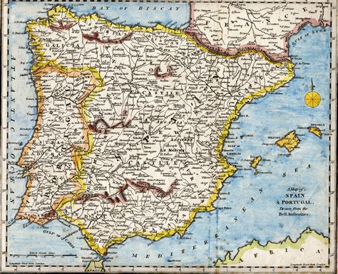 iberian peninsula map spain middle ages map