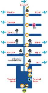 Atlanta Terminal Map by Dallas Fort Worth Airport Terminal Information And Airline