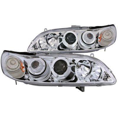 1999 honda accord headlight 1999 honda accord projector headlights chrome halo