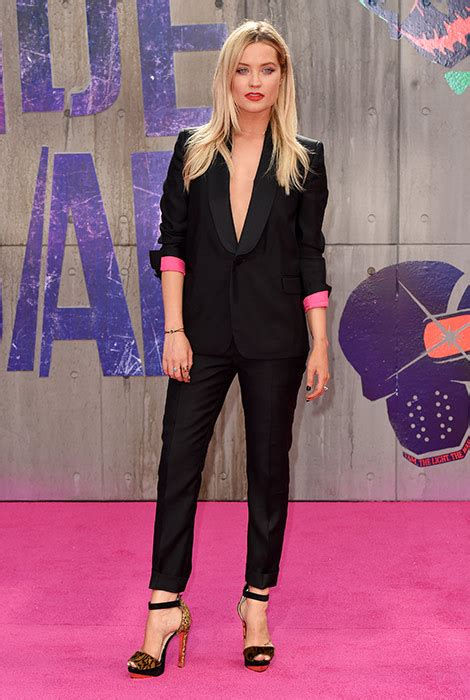 Skwad Jacket From Squad cara delevingne and margot robbie stun at premiere of squad