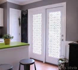 Window Treatment Ideas For Patio Doors Owen S Custom Window Treatments Using Pvc