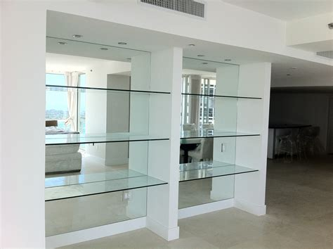 glass wall shelves new design space saver corner glass polished custom glass