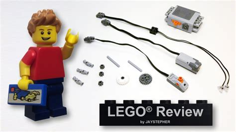 tutorial lego power functions review lego power functions motor set 8293 cc youtube