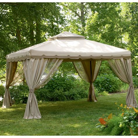 13ft x 10ft portable gazebo replacement canopy garden winds