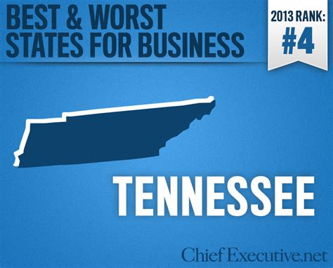 Top Mba Programs Tennessee by Tennessee Is The 4th Best State For Business 2013