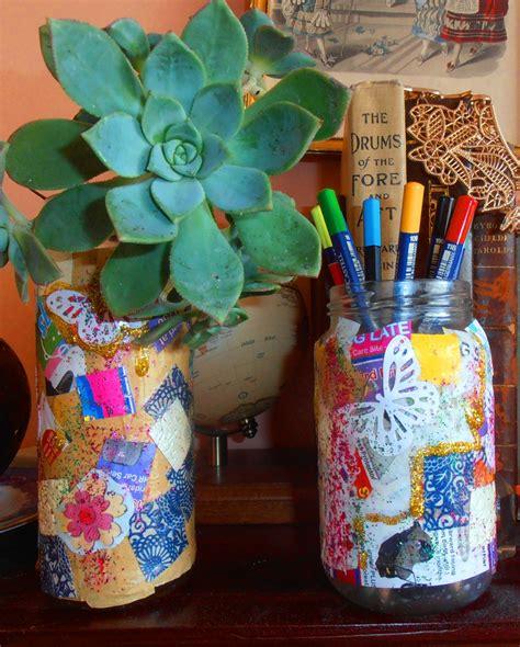 Vase Crafts Ideas by Paper Mosaic Vase Kid Craft